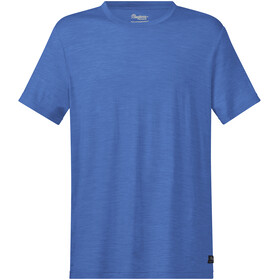 Bergans Oslo Wool T-shirt Herrer, riviera blue